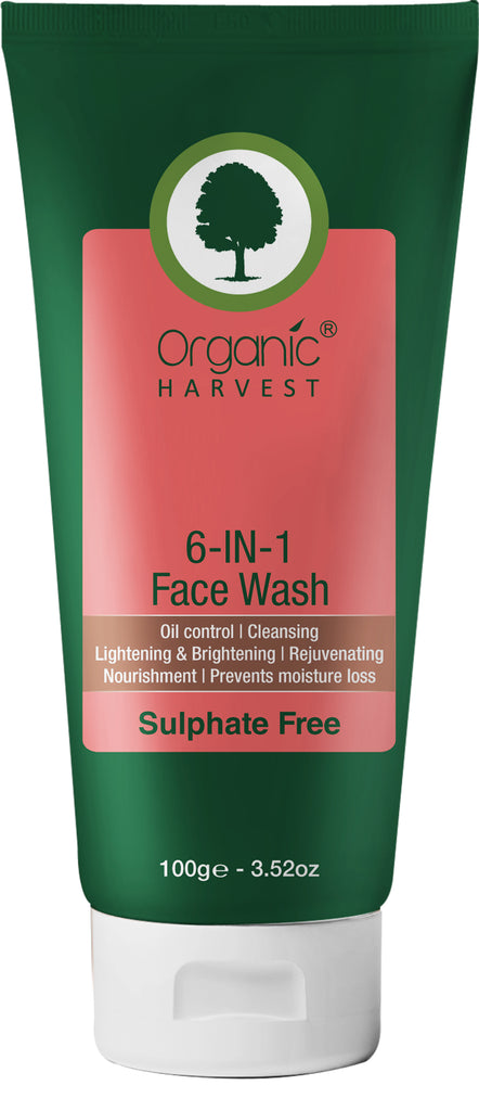 Face Wash - 6 in 1 (Sulphate Free) 100 ml