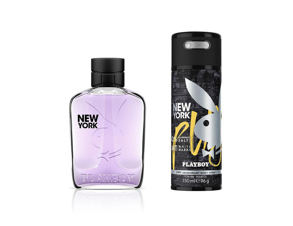 New York Set (EDT100ml+Deo150ml)