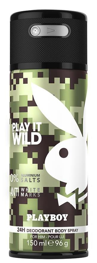 Play It Wild Men Deodorant Spray 150ml