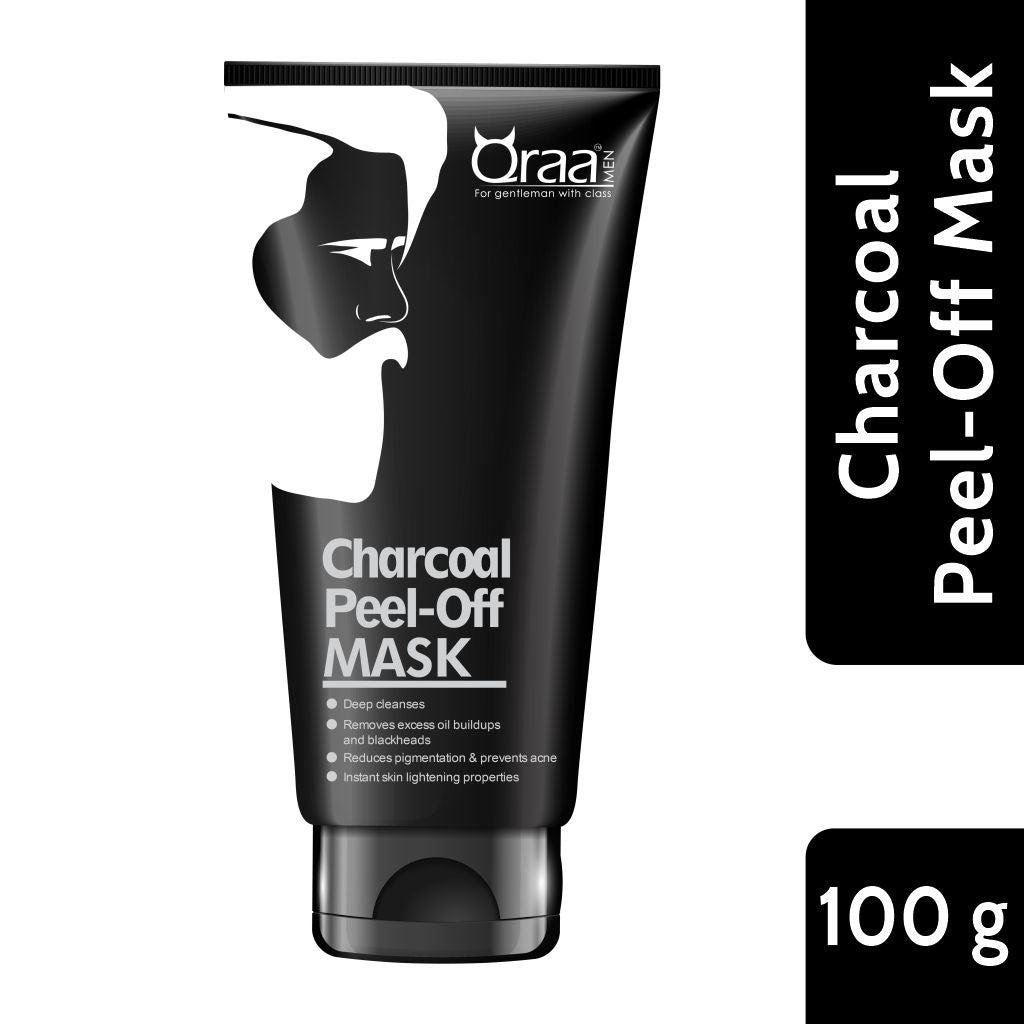 Activated Charcoal Peel Off Mask for Men- 100g