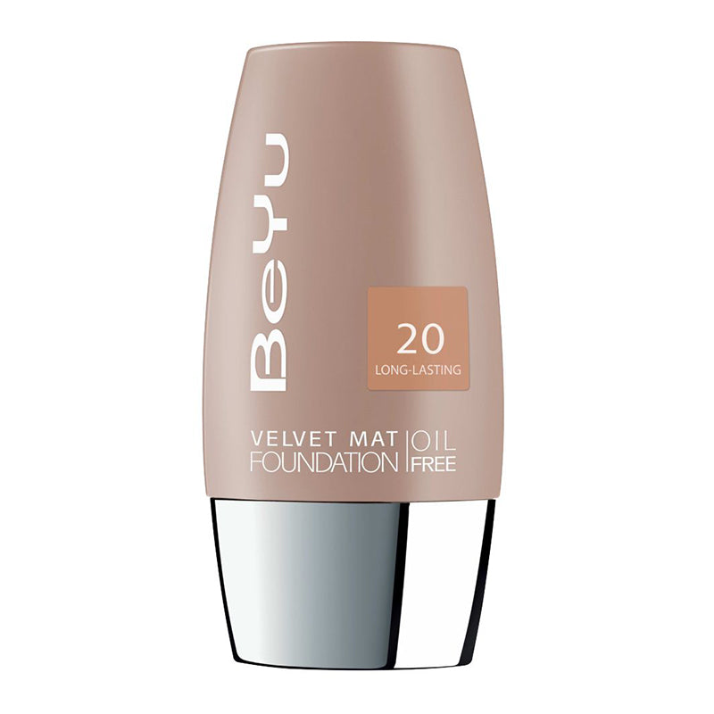 VELVET MAT OIL FREE FOUNDATION LIGHT TOFFE30ML