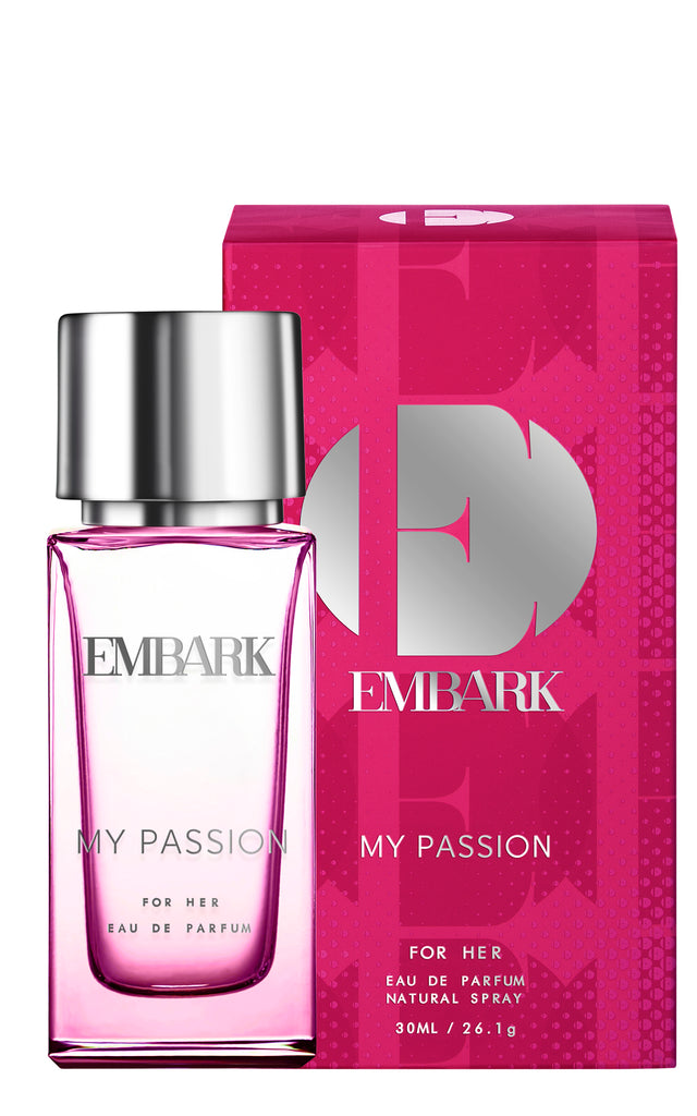 My Passion  For Her - EAU DE PARFUM NATURAL SPRAY- 30 ml