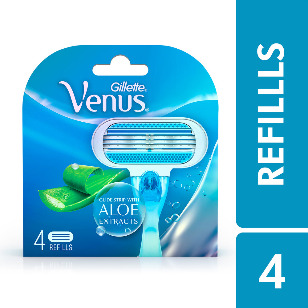 Venus Razor Blades for Women – Pack of 4