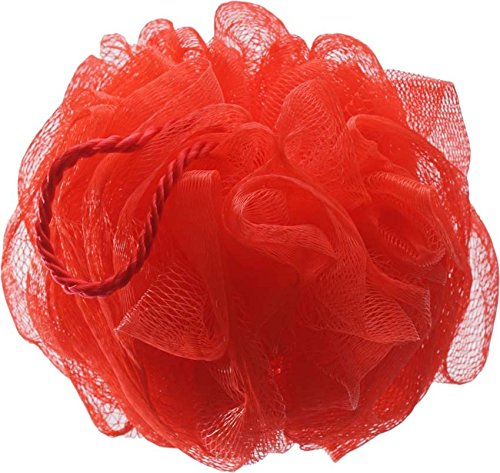 LUXE SPONGE ROUND- CORAL (LOOFAH)