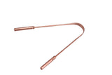 Tongue Cleaner Copper With Handle