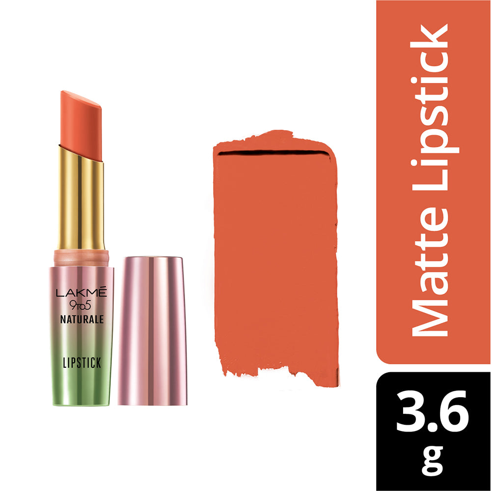 9 to 5 Naturale Matte Lipstick, Coral Bliss, 3.6 g