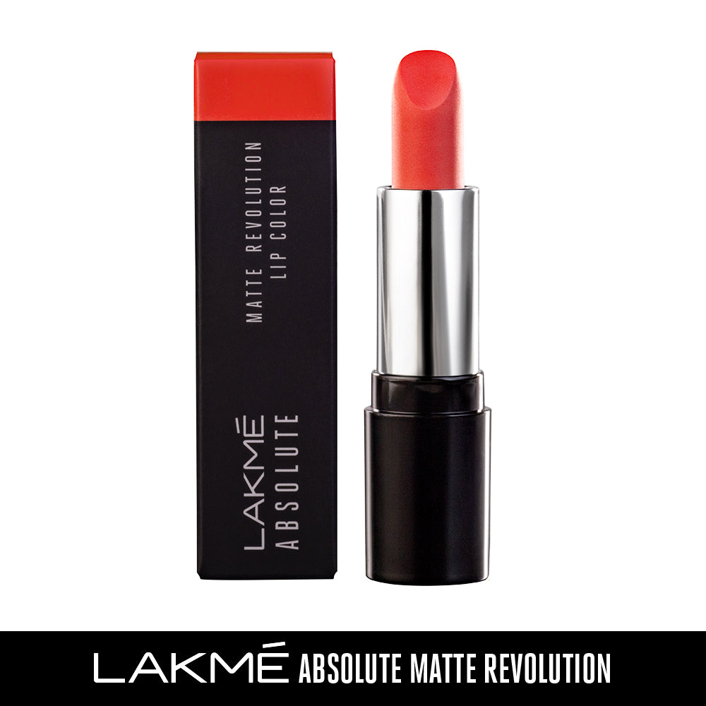 Absolute Matte Revolution Lip Color, 401 Obsessive Orange, 3.5 g