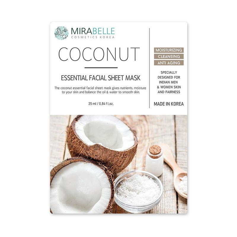COCONUT ESSENTIAL FACIAL SHEET MASK
