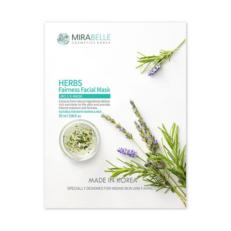 HERBS FAIRNESS FACIAL MASK