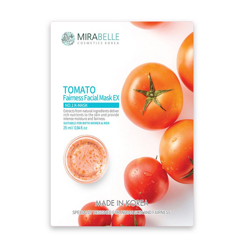 TOMATO FAIRNESS FACIAL SHEET MASK EX