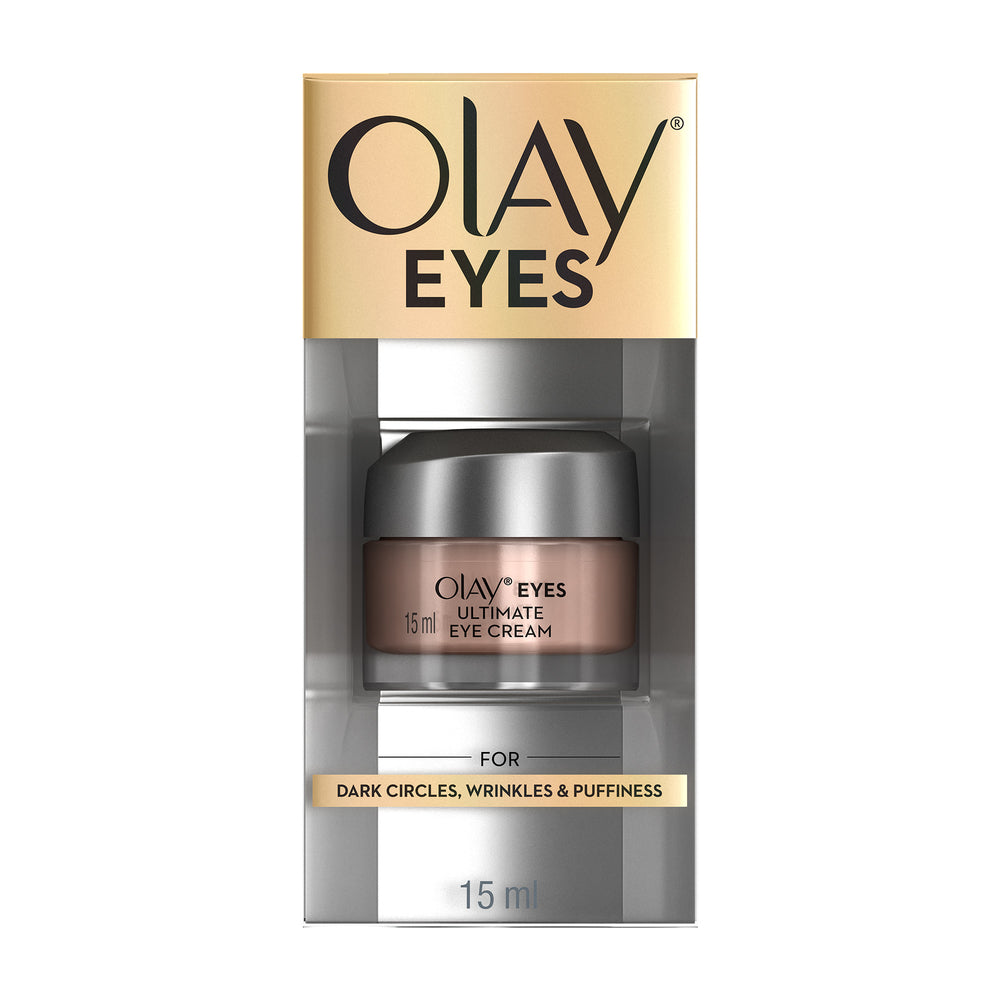 Eyes Ultimate Eye Cream Dark Circles Wrinkles & Puffiness 15 ml
