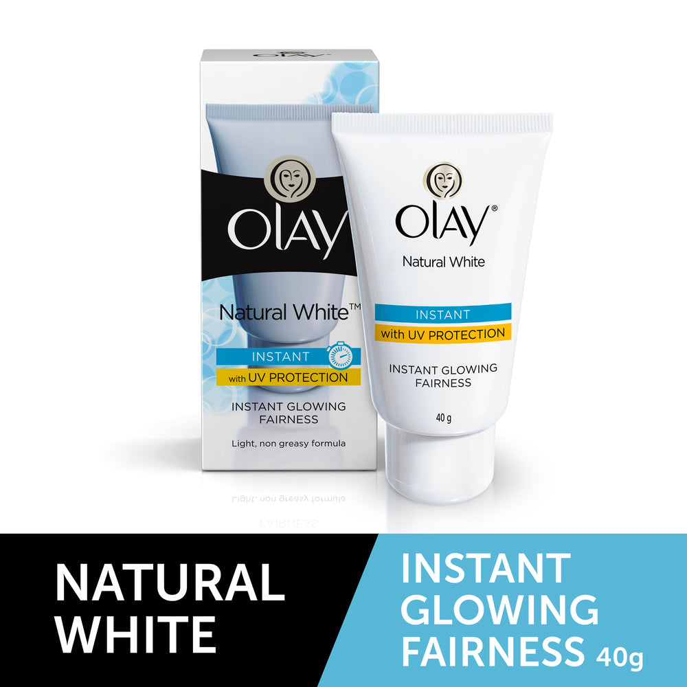 Natural White Instant Glowing Fairness Skin Cream 40g