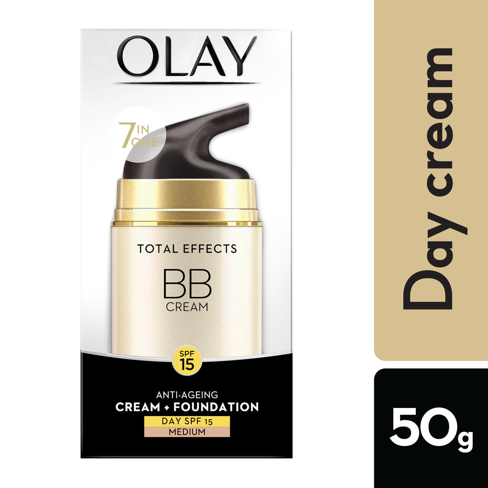 Total Effects 7-in-1 Anti-Ageing BB Day Skin Cream with a Touch Of Foundation Normal SPF15 50g