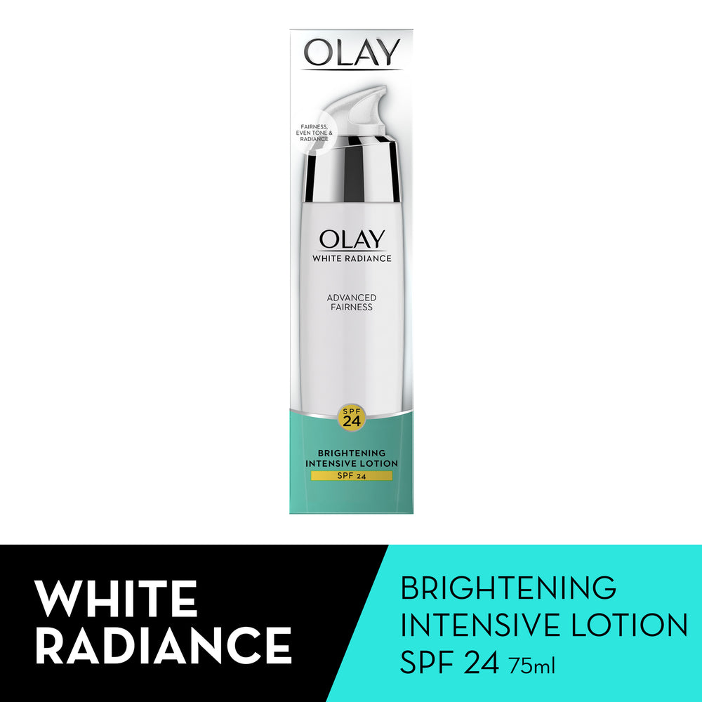 White Radiance Advanced Fairness Brightening Intensive Lotion, 75ml