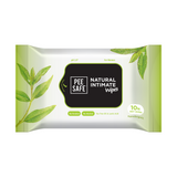 Natural Intimate Wipes - Pack of 10