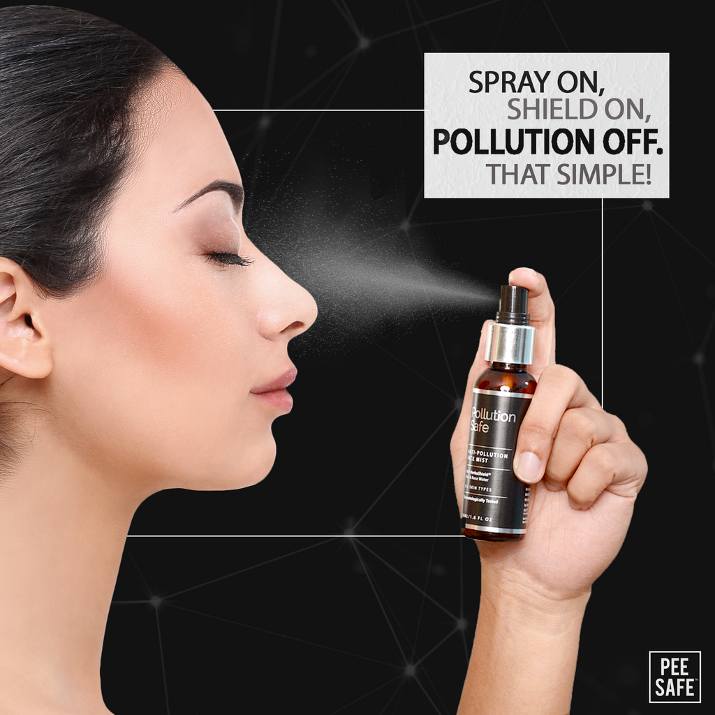 Pollution Safe Anti-Pollution Face Mist with Herbashield®