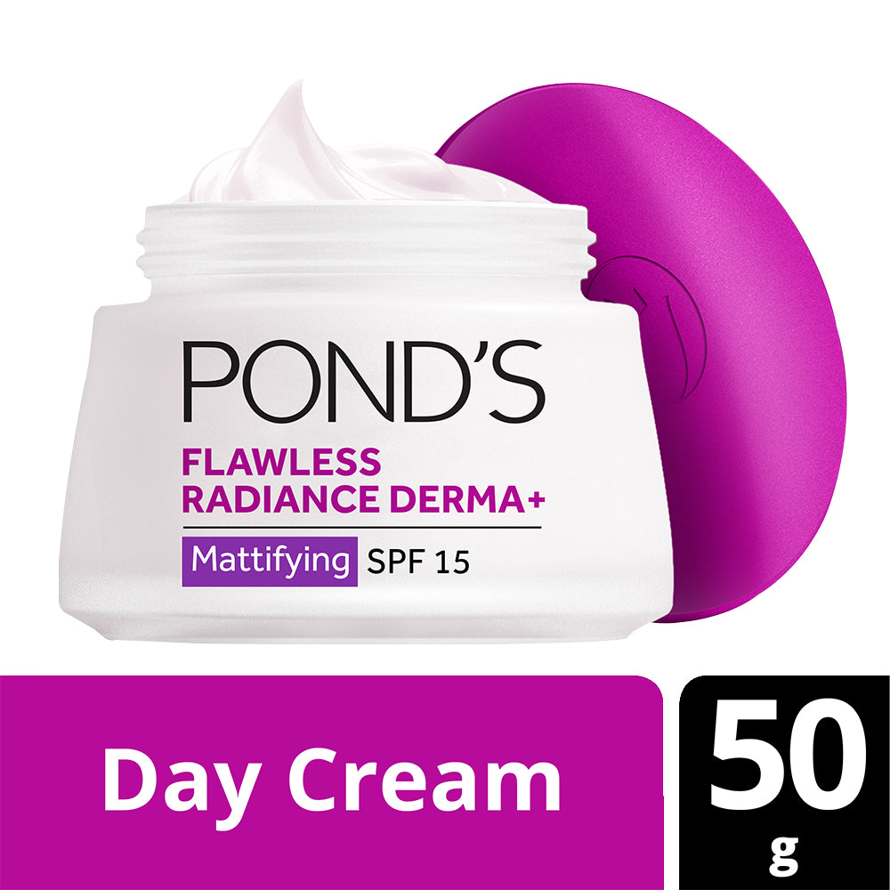Flawless Radiance Derma+ Mattifying Day Cream SPF 15 PA+++, 50 g