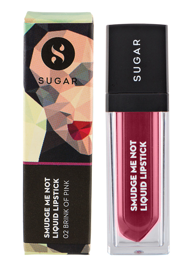 Smudge Me Not Liquid Lipstick - 02 Brink Of Pink (Plum Rose)