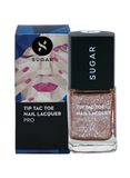 Tip Tac Toe Nail Lacquer - 020 Set On Sapphire (Navy Blue Glitter)