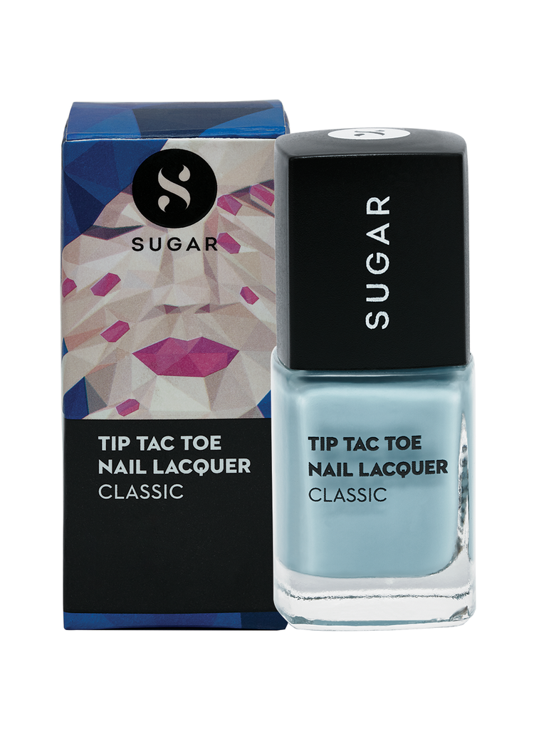 Tip Tac Toe Nail Lacquer - 024 Bird's Eye Blue (Pastel Blue)