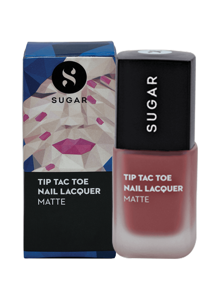 Tip Tac Toe Nail Lacquer - 037 Peachy Little Liars (Matte Nude Pink)
