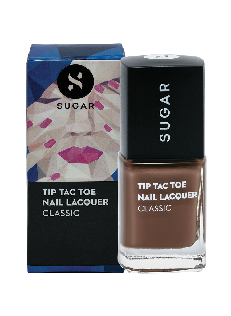 Tip Tac Toe Nail Lacquer - 046 To Taupe It All (Taupe Brown)