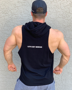 Sleeveless Racerback  Hoodies