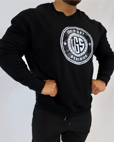 Fleece Crew Neck Sweatshirts