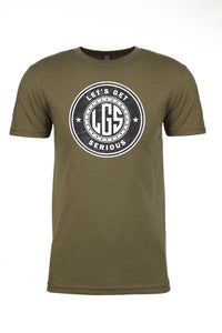 Original LGS Logo Crew Neck T Shirt