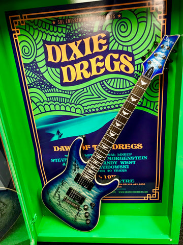 Dixie Dregs 40th Anniversary Signed Guitar