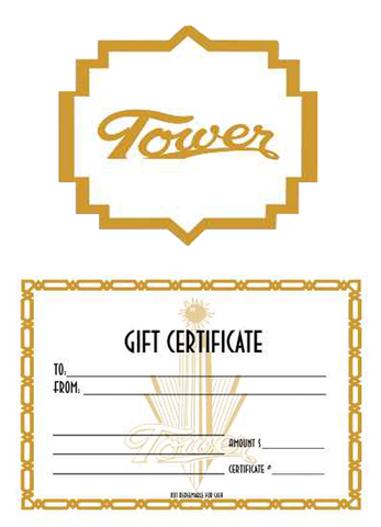 Tower Theatre Gift Certificate