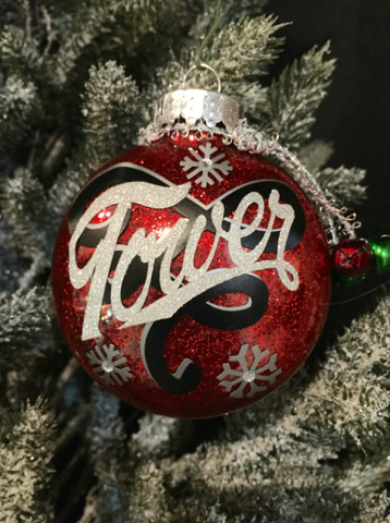 Custom Tower Theatre Christmas Tree Ornament