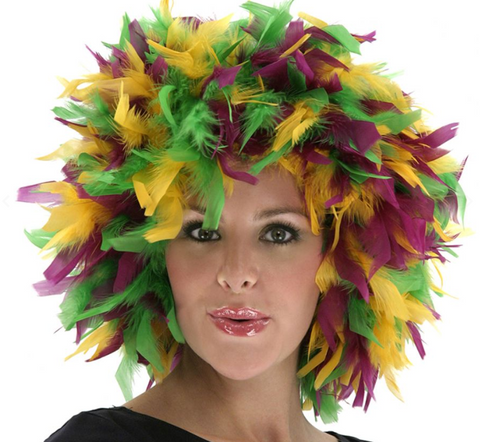 Wig - Mardi Gras Mixed Color