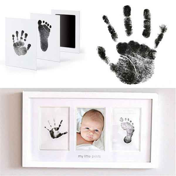 Baby Hand and Footprint Picture Frame Kit