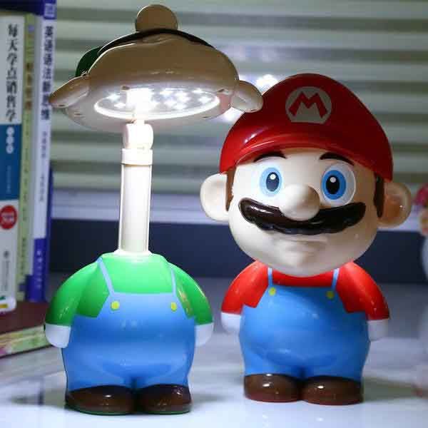 Super Mario Table Bedside Lamp