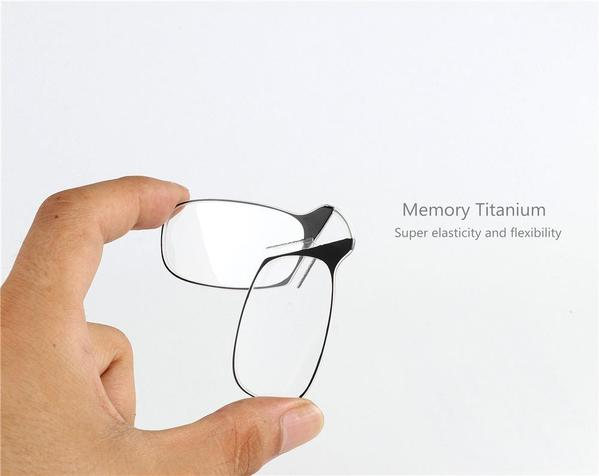Ultra Portable Keychain Reading Glasses