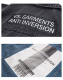 Anti-Inversion Denim Jacket