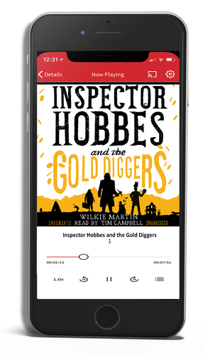 Inspector Hobbes and the Gold Diggers: Unhuman, Book 3