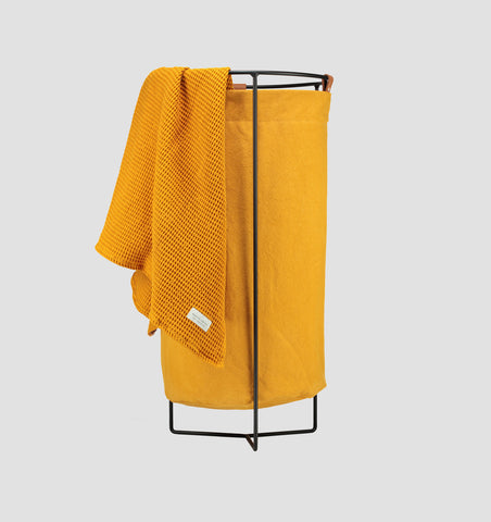 Black Frame Laundry Basket - Tumeric