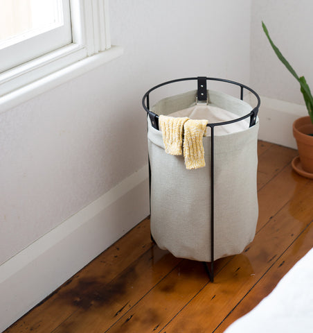 Small Laundry Basket — Sage