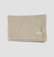 Cotton Waffle Towels - Pumice