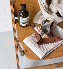 Leather Desk Tidy