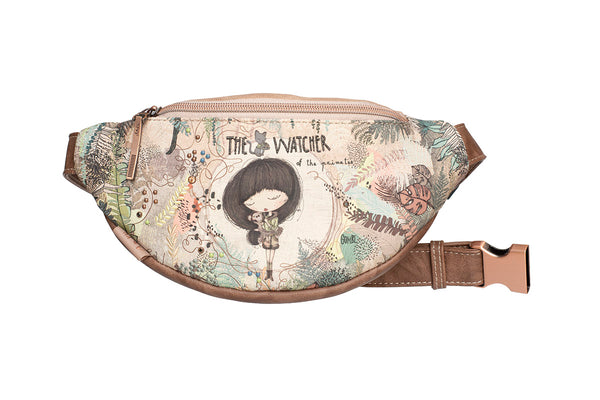 Torebka crossbody nerka biodrowa Anekke Jungle