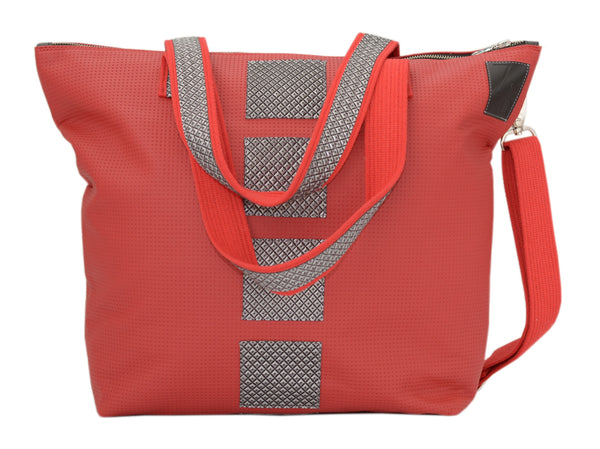 Torba damska shopper techno