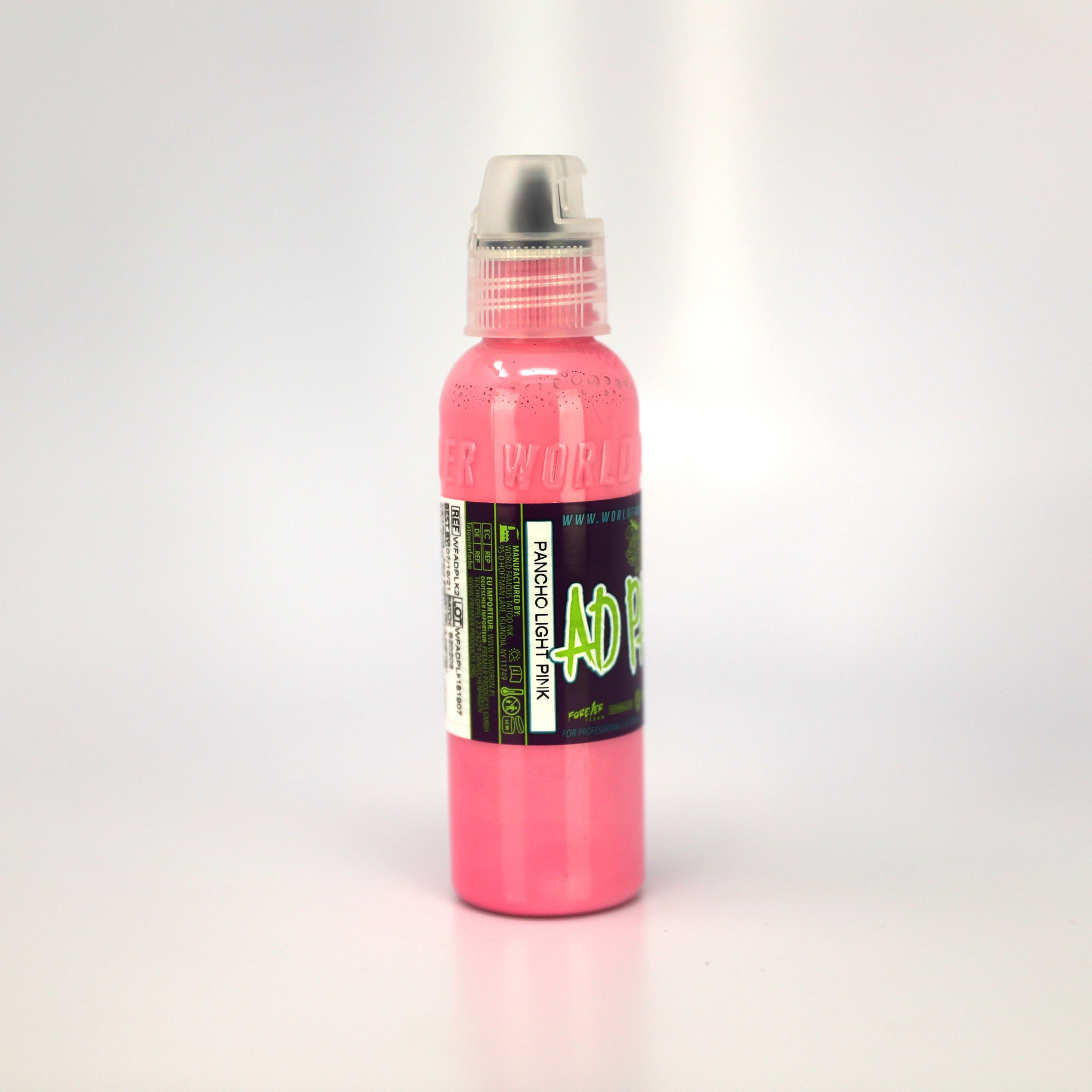 WORLD FAMOUS INK A.D. PANCHO - LIGHT PINK, Ink, - Inktrek