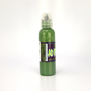 WORLD FAMOUS INK A.D. PANCHO - MEDIUM GREEN