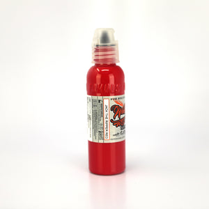 WORLD FAMOUS INK - JASON ACKERMAN JACK THE RIPPER RED