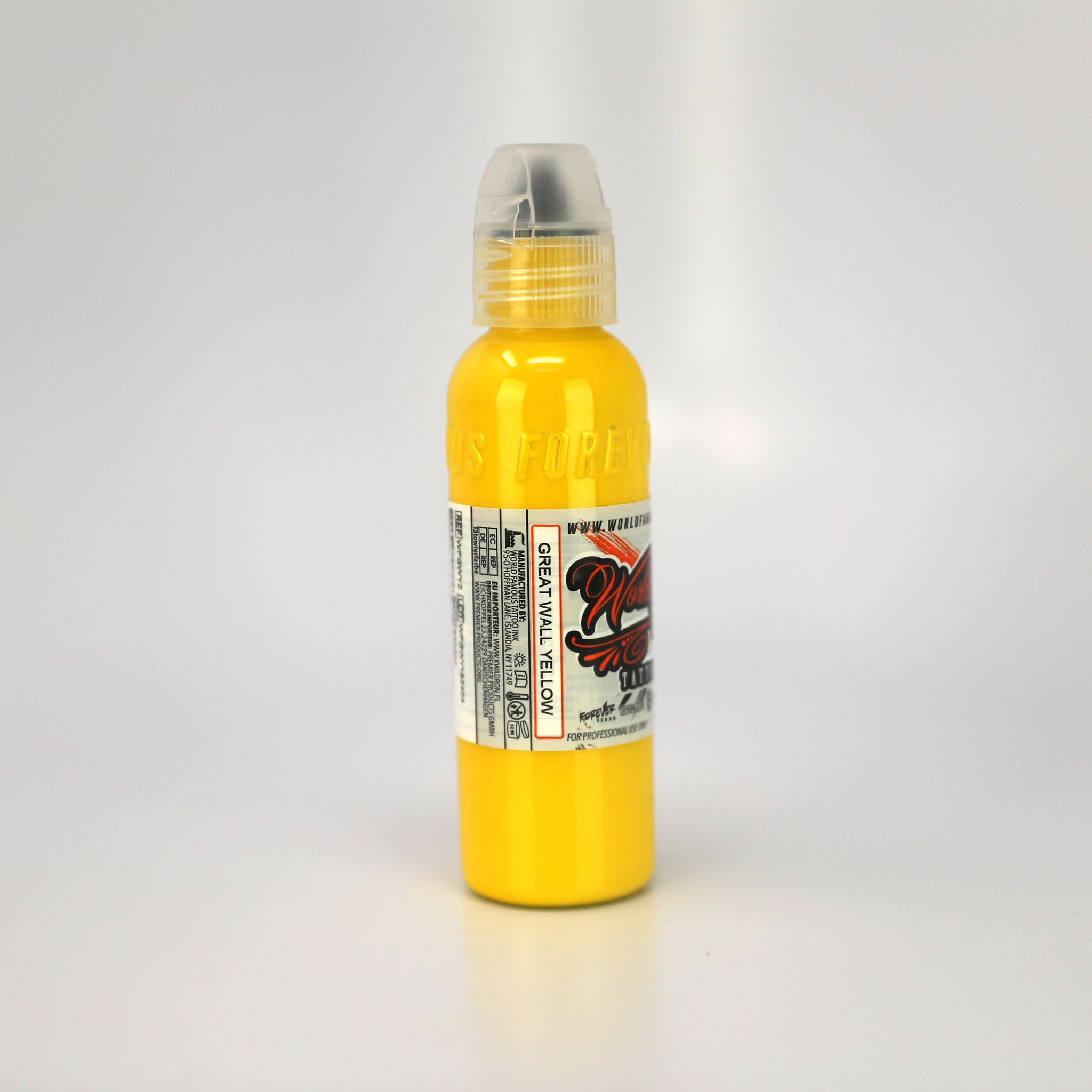 WORLD FAMOUS INK - GREAT WALL YELLOW, Ink, - Inktrek