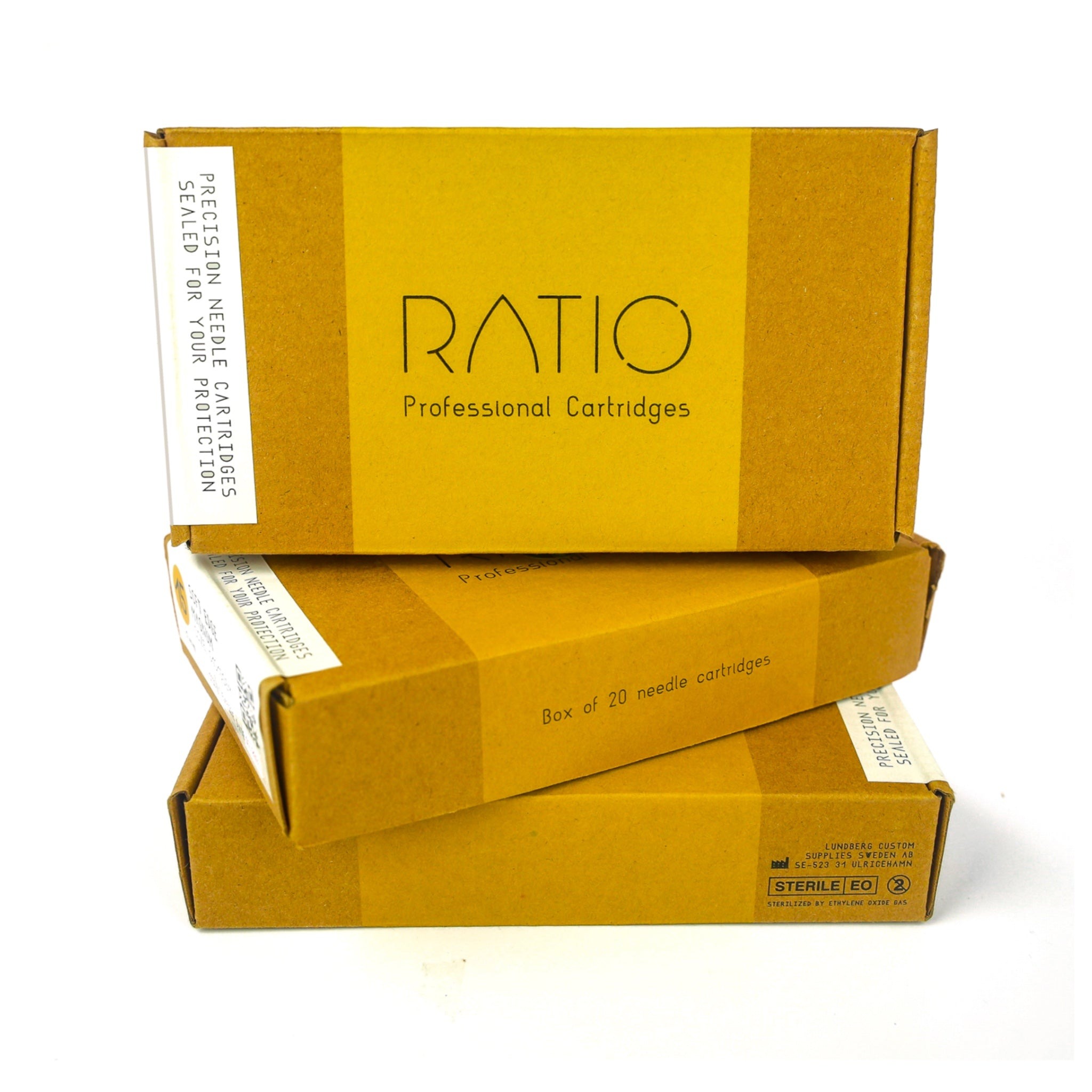 RATIO - CARTRIDGES, Needles, - Inktrek