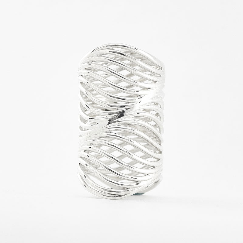 High Tide Water Wave Ring | 3D Printed Jewelry | 3D Printing Fashion